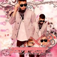 Blend Justin Bieber #5 by VicGomezEditions