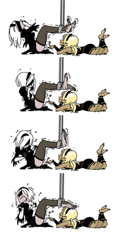 Kat Turns 2B On by PawFeather