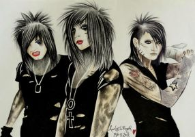BLACK VEIL BRIDES by ANNGEINROGER