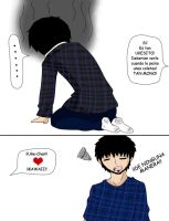 MIni comic - Uke by Tsuki-angeldark