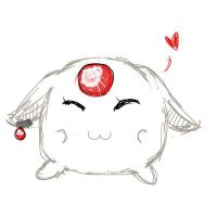 White Mokona ,,,,, request by Odespaprikan