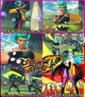 SF4 : Rose - Morrigan by 70R4N