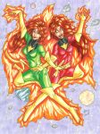 Phoenix Sugar and Spice by ibroussardart