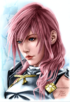 Final Fantasy XIII: Lightning 2 by SyntaxError255