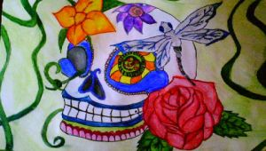 Sugar  Skull by christina177