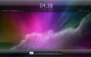 iPad Slide n Clock for XWidget by boyzonet