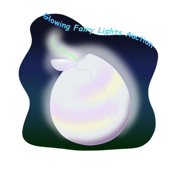 Bahkeh FairyLights Egg Auction! CLOSED! by CuteyCreations
