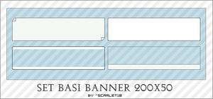Set 10 Basi Banner 200x50 by Scarlet18