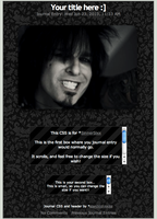 Journal CSS for SinnerSixx by starchild-rocks