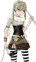 Steampunk Maka Albarn by boneypatches