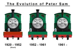 The Evolution of Peter Sam by The-ARC-Minister