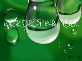 10 Waterdrop PSD. Pack1 by ALKAP0NE