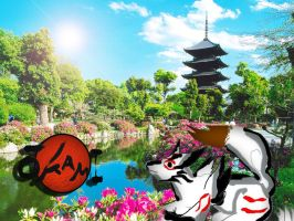 Amaterasu - Okami edit by Die-Rose