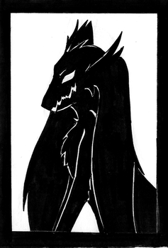 My little Shadow - Bookmark by Wyvernfang