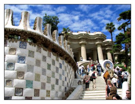 Park Guell by SurfGuy3