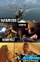 inFAMOUS Series (Cole MacGrath Story) by ThePuppetReturns