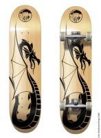Skateboard Design - 2 by dyreryft