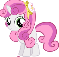 SweetieBelle  Hairstyle Equestria Girls by ThisBrokenBrain