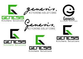Genesis Kitchens Solutions Logo Design Ideas by thomasdyke
