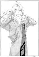 Edward Elric by LeBoubou