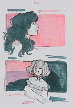 Sketchbook Page by ambue