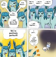 The Eevees 13: Glaceons by NoaQep