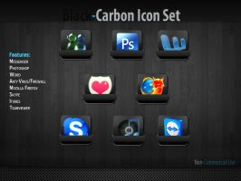 Sample B.Carbon Icon Pack by FreakIconDesign