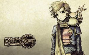 Daily Sketch: Isaac - Golden Sun Fanart by Speckled-Egg
