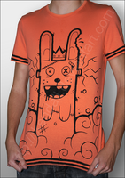 King Frankenrabbit : shirt by JKendall