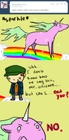 Can you eat  a unicorn? by The-Investigators