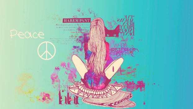 +Wallpaper Peace by pazitha