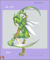 pkmn gijinka_scyther by blackwinged-neotu