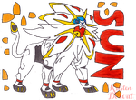 Pokemon Sun Solgaleo by LocalAlly