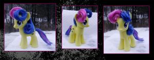 My Little Pony BonBon Custom by kaizerin