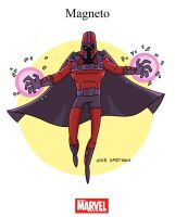 Mighty Marvel Month of March - Magneto by tyrannus