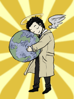 Colored: He's Got The World by EmonyJade
