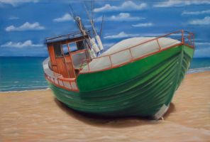 Fishing Boat by riksons