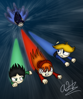 The Boys are in Trouble now by SonicandShadowfan15