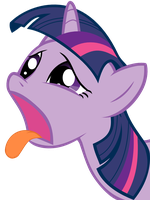 Twilight Sparkle - Bleh by haratofu