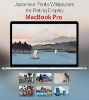 Japanese Prints for Retina Display MacBook Pro by city17