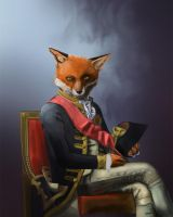 The Fox General by Blind-Pixel777
