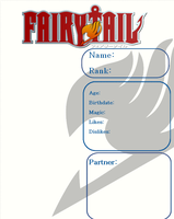 Fairy Tail 2 Template by mkat7