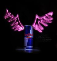 Redbull Gives You Wings by MichelleRamey