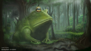 Legend Of The Swamp King by SaschaKhan