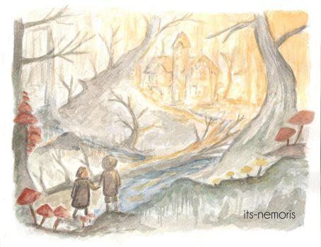 Wood scene - Hansel and Gretel by its-nemoris