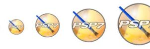 Paint Shop Pro PSP7 icon 128 by rawfx