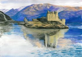 Eilean Donan Castle by Charmed-Ravenclaw