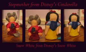 Snow White and Stepmother by ProtectorKorii