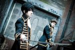Gintama: Alley Patrol by LiquidCocaine-Photos