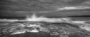 Wet Maroubra by MarkLucey